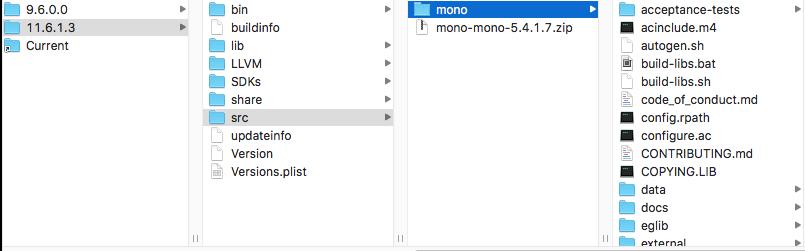 Mono folder