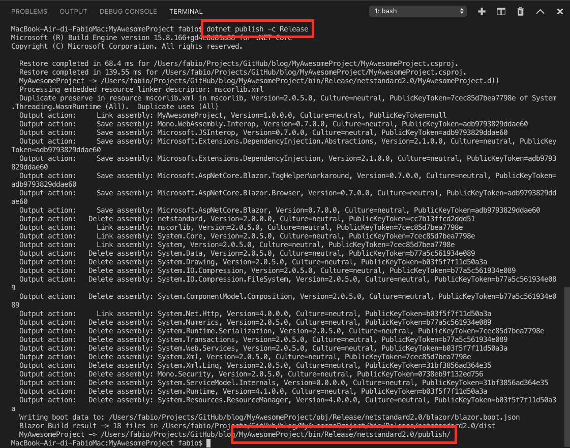 Deploy a Blazor app on GitHub Pages   Fabio Cozzolino's blog